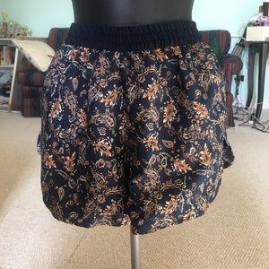 Pants - Reversible elephant/paisley shorts boho hippie